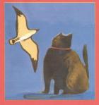 gatto e gabbianella
