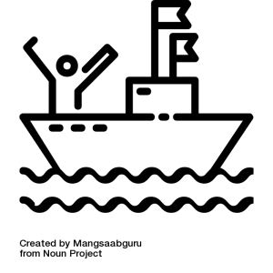 noun_Migration Boat_1291241