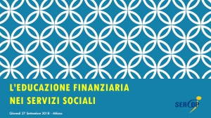 Educazione finanziaria Servizi sociali